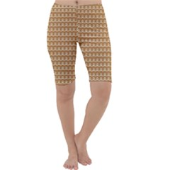 Gingerbread Christmas Cropped Leggings