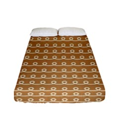 Gingerbread Christmas Fitted Sheet (Full/ Double Size)