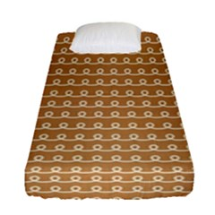 Gingerbread Christmas Fitted Sheet (single Size)