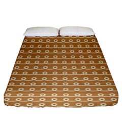 Gingerbread Christmas Fitted Sheet (King Size)