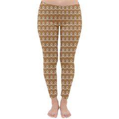 Gingerbread Christmas Classic Winter Leggings
