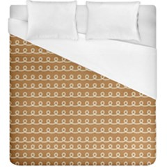 Gingerbread Christmas Duvet Cover (King Size)