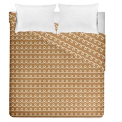 Gingerbread Christmas Duvet Cover Double Side (Queen Size)