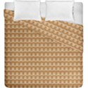Gingerbread Christmas Duvet Cover Double Side (King Size) View1