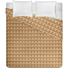 Gingerbread Christmas Duvet Cover Double Side (California King Size)