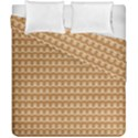 Gingerbread Christmas Duvet Cover Double Side (California King Size) View1