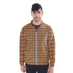 Gingerbread Christmas Windbreaker (Men)