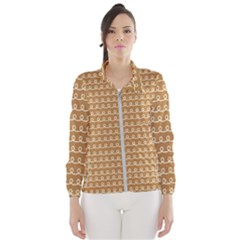 Gingerbread Christmas Windbreaker (Women)