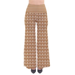 Gingerbread Christmas So Vintage Palazzo Pants by Alisyart
