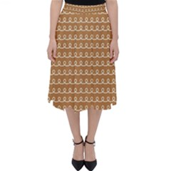 Gingerbread Christmas Classic Midi Skirt