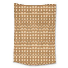 Gingerbread Christmas Large Tapestry