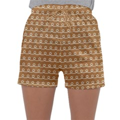 Gingerbread Christmas Sleepwear Shorts
