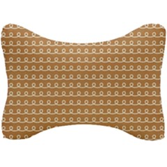 Gingerbread Christmas Seat Head Rest Cushion