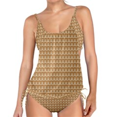 Gingerbread Christmas Tankini Set