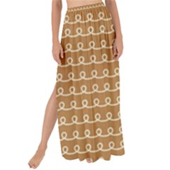Gingerbread Christmas Maxi Chiffon Tie-Up Sarong