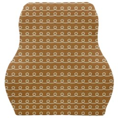 Gingerbread Christmas Car Seat Velour Cushion