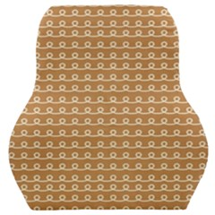 Gingerbread Christmas Car Seat Back Cushion