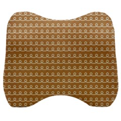 Gingerbread Christmas Velour Head Support Cushion