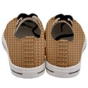 Gingerbread Christmas Men s Low Top Canvas Sneakers View4