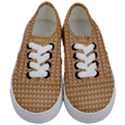Gingerbread Christmas Kids  Classic Low Top Sneakers View1