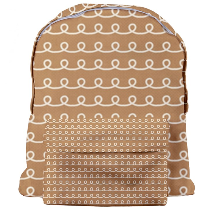 Gingerbread Christmas Giant Full Print Backpack