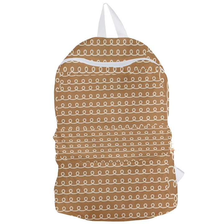 Gingerbread Christmas Foldable Lightweight Backpack