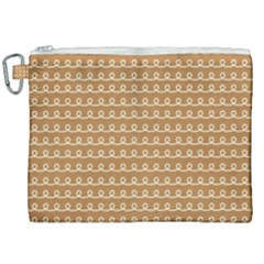 Gingerbread Christmas Canvas Cosmetic Bag (XXL)