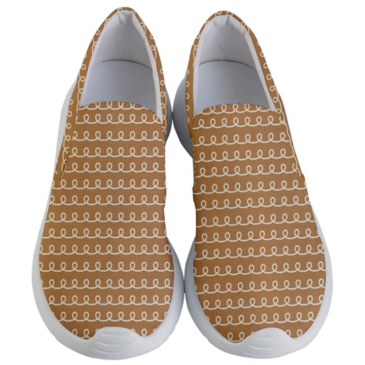 Gingerbread Christmas Women s Lightweight Slip Ons