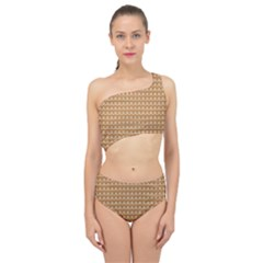 Gingerbread Christmas Spliced Up Two Piece Swimsuit
