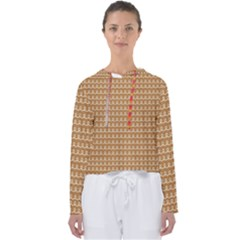 Gingerbread Christmas Women s Slouchy Sweat