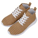 Gingerbread Christmas Women s Lightweight High Top Sneakers View2