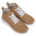 Gingerbread Christmas Women s Lightweight High Top Sneakers View3