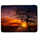 Lonely Tree Sunset Wallpaper Samsung Galaxy Tab 7  P1000 Flip Case View1