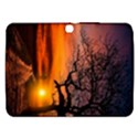 Lonely Tree Sunset Wallpaper Samsung Galaxy Tab 3 (10.1 ) P5200 Hardshell Case  View1