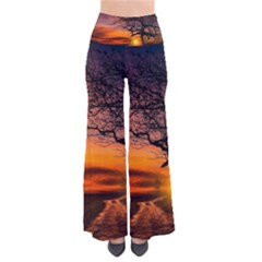 Lonely Tree Sunset Wallpaper So Vintage Palazzo Pants