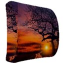 Lonely Tree Sunset Wallpaper Back Support Cushion View2