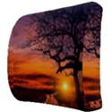 Lonely Tree Sunset Wallpaper Back Support Cushion View3