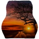 Lonely Tree Sunset Wallpaper Car Seat Velour Cushion  View1