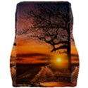 Lonely Tree Sunset Wallpaper Car Seat Velour Cushion  View2