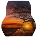 Lonely Tree Sunset Wallpaper Car Seat Back Cushion  View1