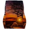 Lonely Tree Sunset Wallpaper Car Seat Back Cushion  View2