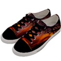 Lonely Tree Sunset Wallpaper Men s Low Top Canvas Sneakers View2