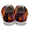 Lonely Tree Sunset Wallpaper Women s Low Top Canvas Sneakers View4