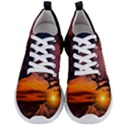 Lonely Tree Sunset Wallpaper Men s Lightweight Sports Shoes View1