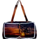 Lonely Tree Sunset Wallpaper Multi Function Bag	 View1