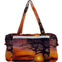 Lonely Tree Sunset Wallpaper Multi Function Bag	 View2