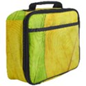 Green Yellow Leaf Texture Leaves Full Print Lunch Bag View3
