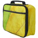 Green Yellow Leaf Texture Leaves Full Print Lunch Bag View4