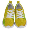 Green Yellow Leaf Texture Leaves Kids  Lightweight Sports Shoes View1