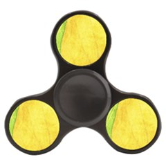Green Yellow Leaf Texture Leaves Finger Spinner